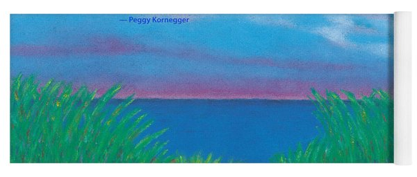Dunes At Dawn - With Quote Yoga Mat