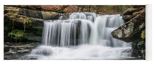 Dunloup Creek Falls Yoga Mat