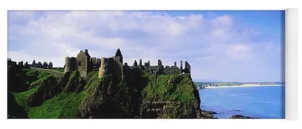 Dunluce Castle, Co Antrim, Irish, 13th Yoga Mat