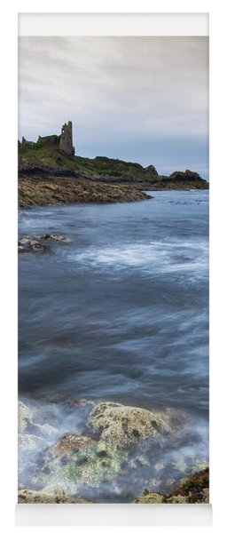 Dunure Castle Scotland  Yoga Mat
