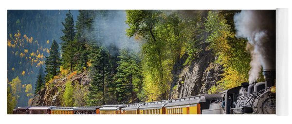 Durango-silverton Narrow Gauge Railroad Yoga Mat