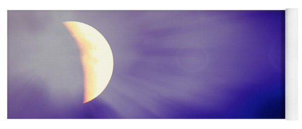 Aries Moon During The Total Lunar Eclipse 3 Yoga Mat