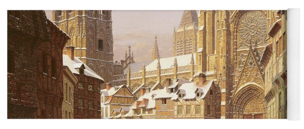 Dutch Cathedral Town Yoga Mat