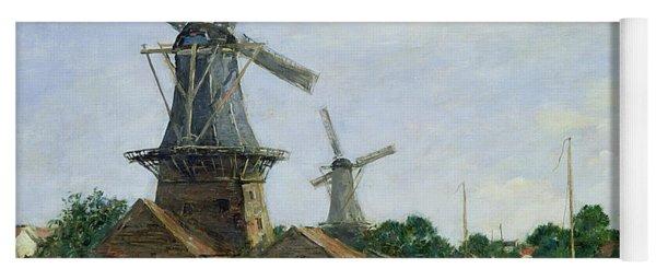 Dutch Windmills Yoga Mat
