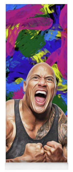 Dwayne Johnson Yoga Mat