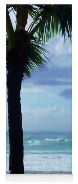 Dwell In Paradise Yoga Mat