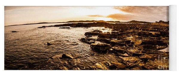 Dynamic Ocean Panoramic Yoga Mat