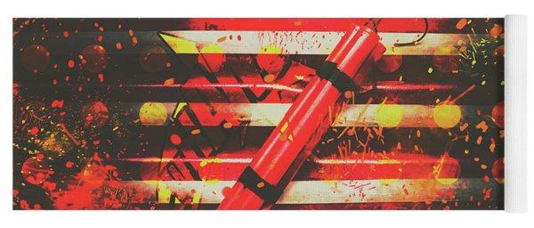 Dynamite Artwork Yoga Mat