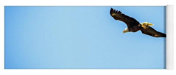 Eagle Above Yoga Mat