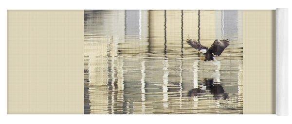 Eagle Abstract Yoga Mat