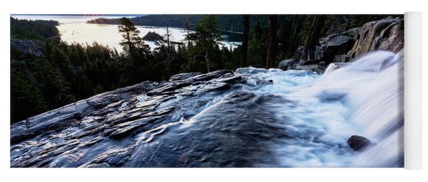 Eagle Falls At Emerald Bay Yoga Mat