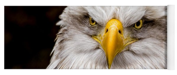 Defiant And Resolute - Bald Eagle Yoga Mat