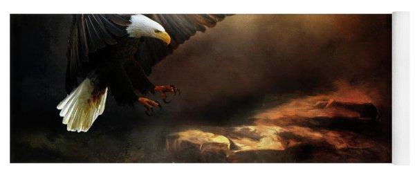 Eagle Is Landing Yoga Mat