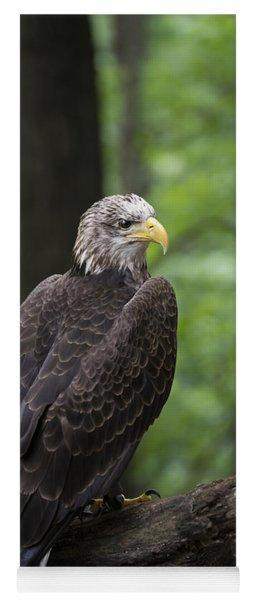 Eagle Portrait Yoga Mat