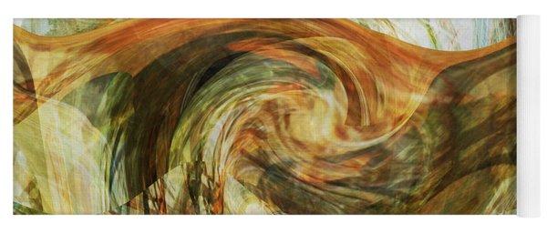 Eagle Profile - Abstract Yoga Mat