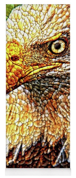 Eagle Quilted Abstract Yoga Mat