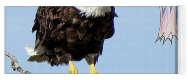 Eagle Reflection Yoga Mat
