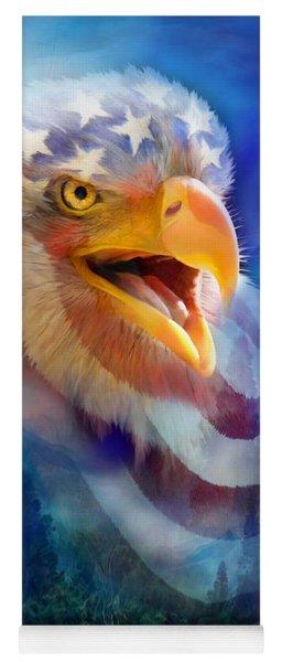 Eagle's Cry Yoga Mat