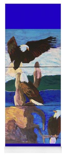 Eagles Yoga Mat
