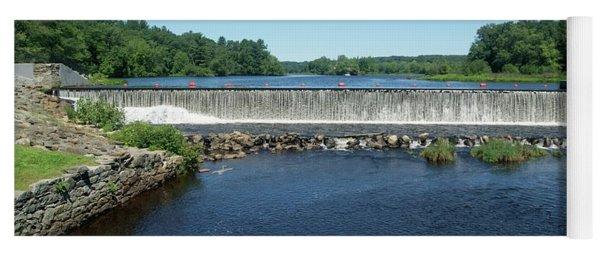 Eagleville Dam, Connecticut  Yoga Mat