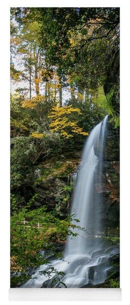 Early Autumn At Dry Falls Yoga Mat