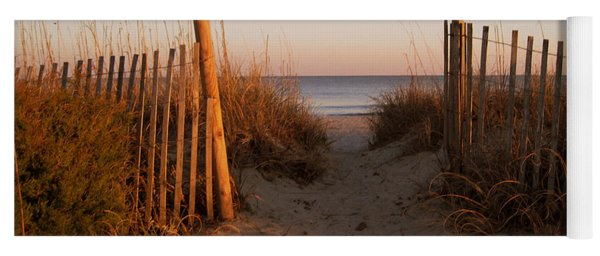 Early Morning At Myrtle Beach Sc Yoga Mat