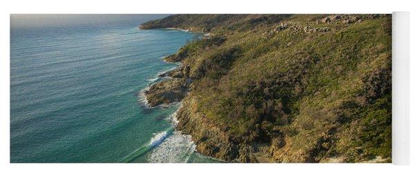 Early Morning Coastal Views On Moreton Island Yoga Mat