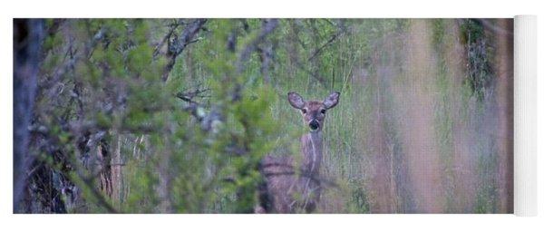Early Morning Deer Yoga Mat