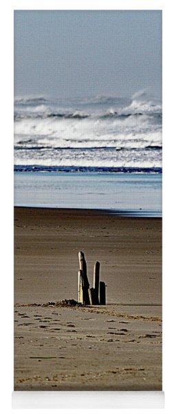 Early Morning On The Oregon Coast Yoga Mat