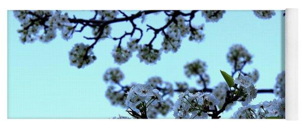 Early Morning Pear Blossom Yoga Mat