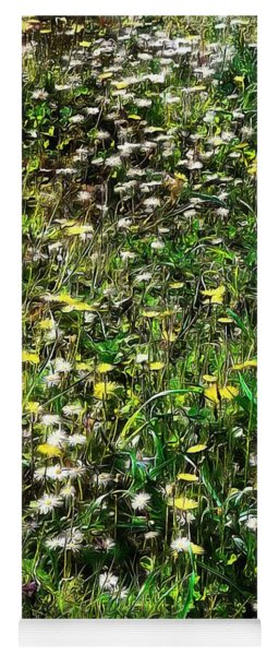 Early Spring Beauty In Umbria Yoga Mat