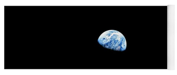 Earthrise - The Original Apollo 8 Color Photograph Yoga Mat