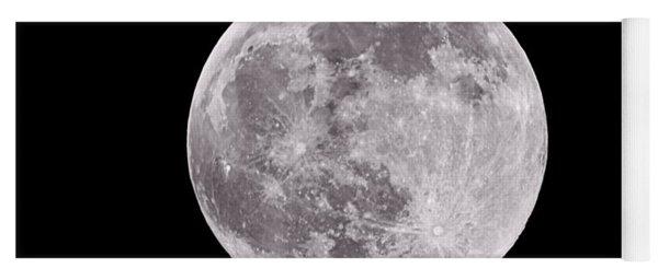 Earth's Moon Yoga Mat
