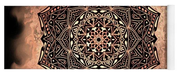 Earthy Mandala Yoga Mat