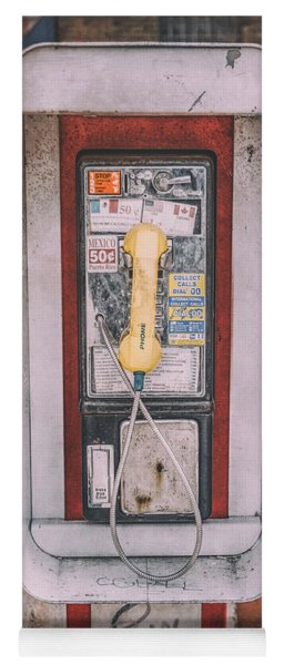 East Side Pay Phone Yoga Mat