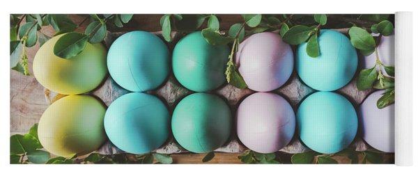 Easter Eggs 27 Yoga Mat