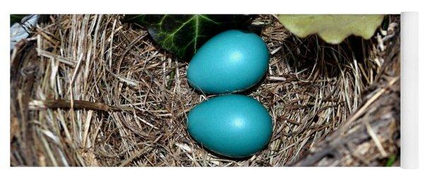 Easter Eggs Yoga Mat