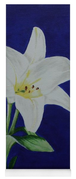 Easter Lily Yoga Mat