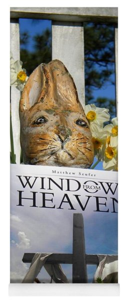 Easter Week Windows From Heaven Yoga Mat