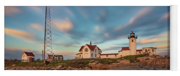 Eastern Point Lighthouse At Sunset Yoga Mat
