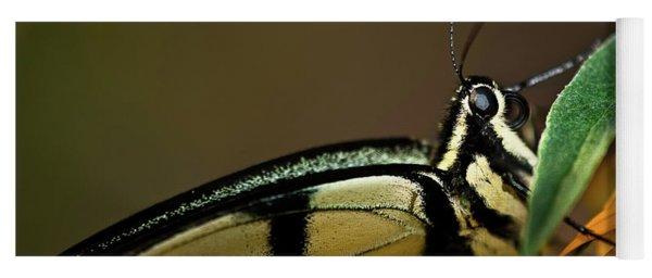 Eastern Tiger Swallowtail Butterfly Yoga Mat