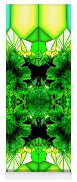 Eat Your Greens Yoga Mat