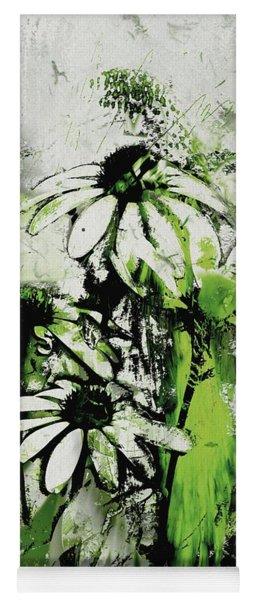 Echinacea - A11bl3c9 Yoga Mat