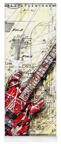Eddie's Guitar 3 Yoga Mat