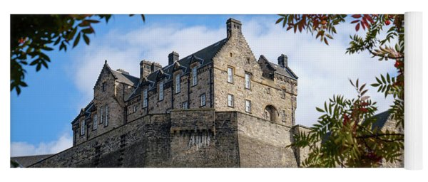 Edinburgh Castle Yoga Mat