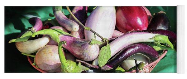Eggplant Still Life Yoga Mat