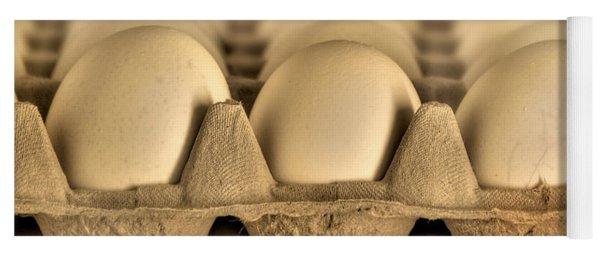 Eggs Yoga Mat