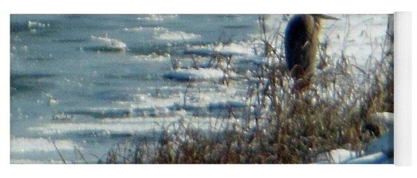 Egret Frozen Lake Yoga Mat