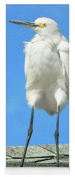 Egret Focused And Poised Yoga Mat
