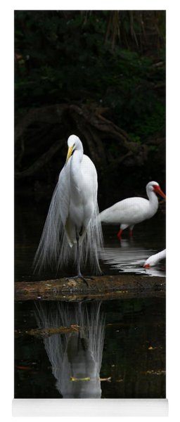 Egret Reflection Yoga Mat